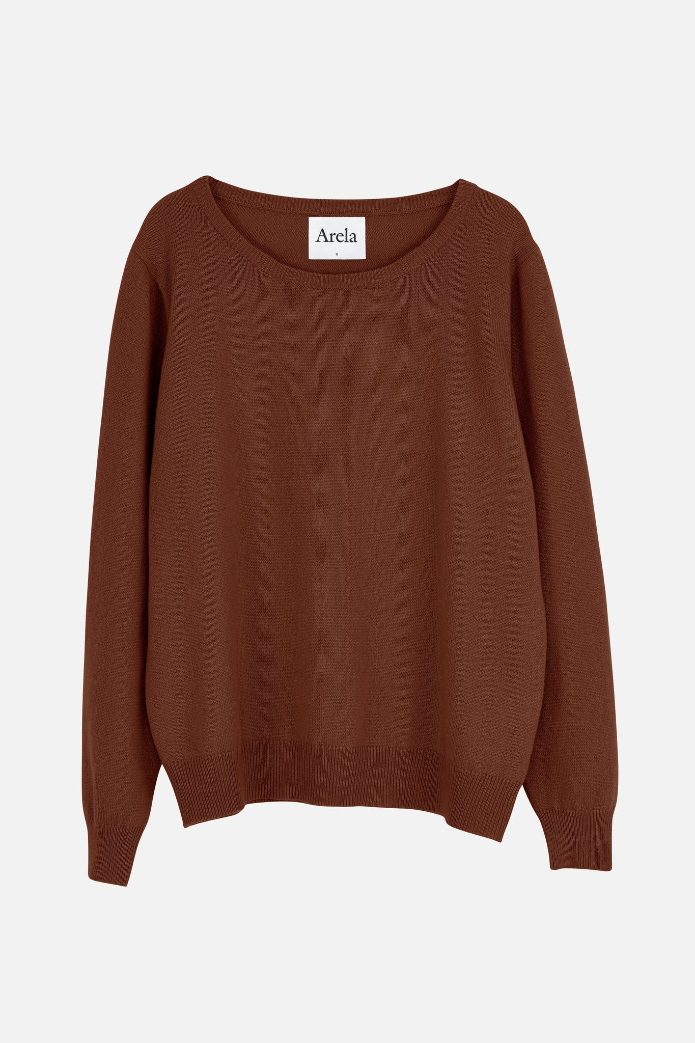 Laine cashmere sweater in brown