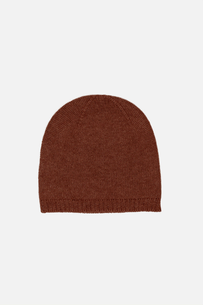 Nao cashmere beanie in brown