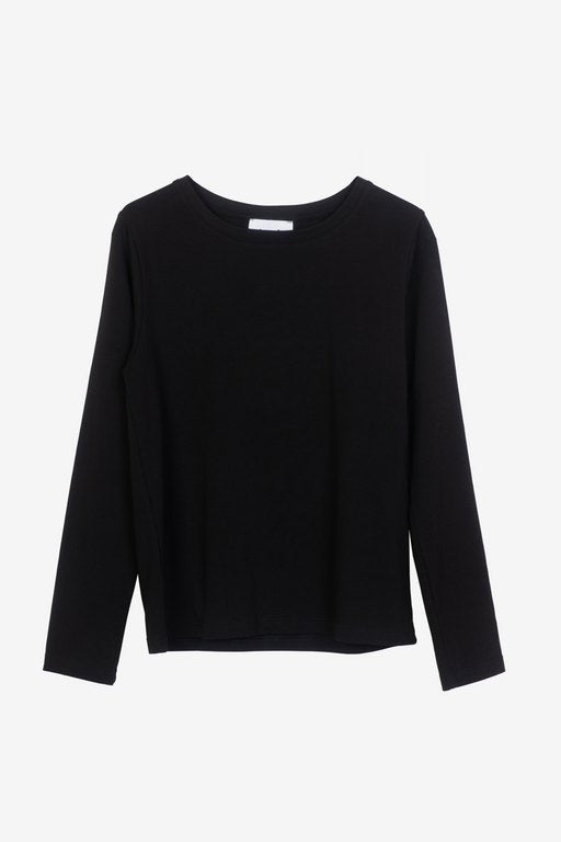 Essa long-sleeved t-shirt in black