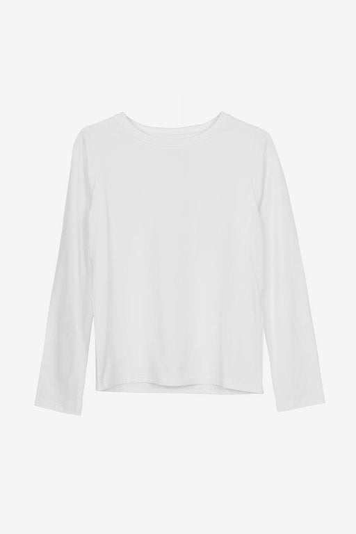 Essa long-sleeved t-shirt in white