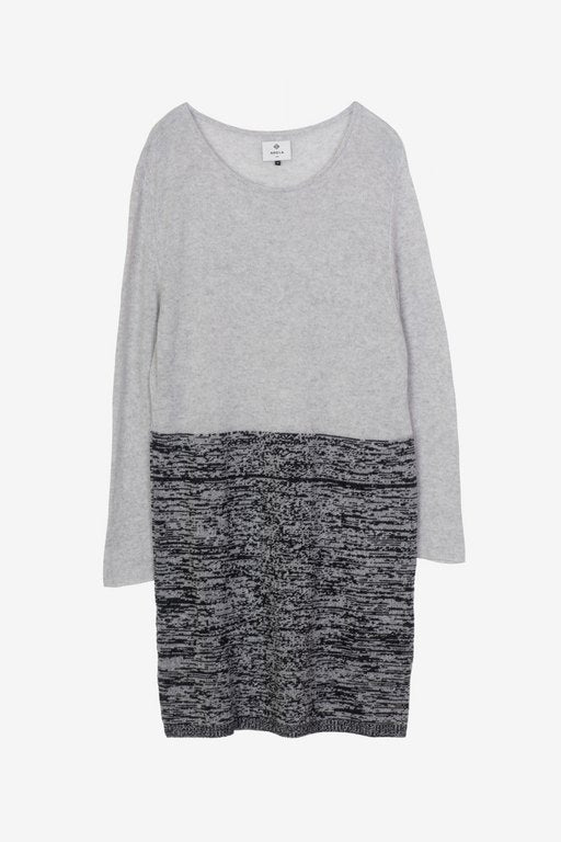 For Good: Multi Grey Dress, size M