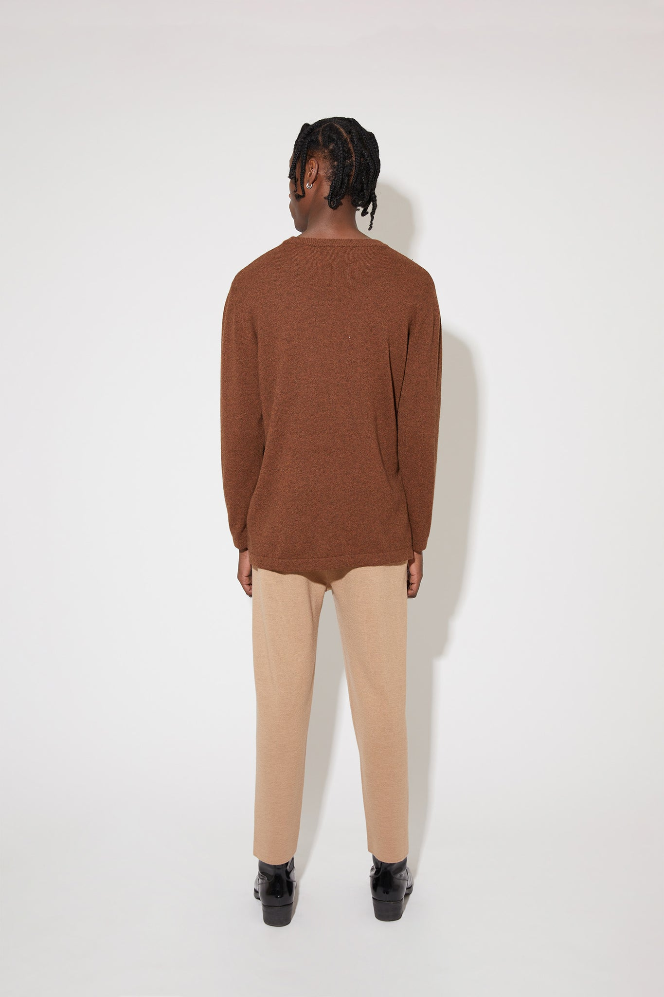 Franz cashmere sweater in brown