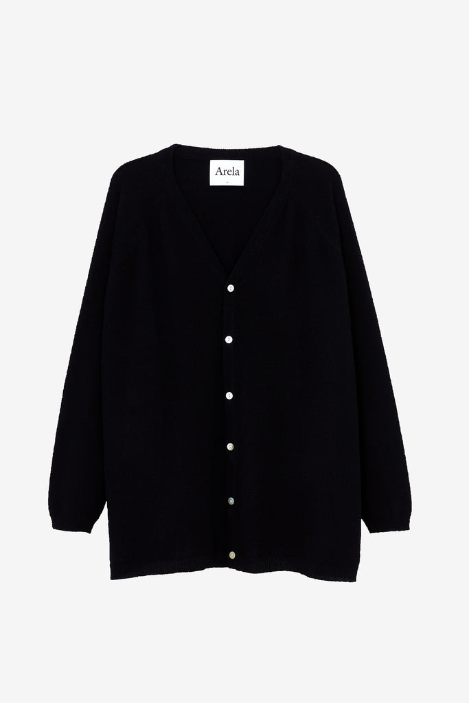 Jill cardigan in black