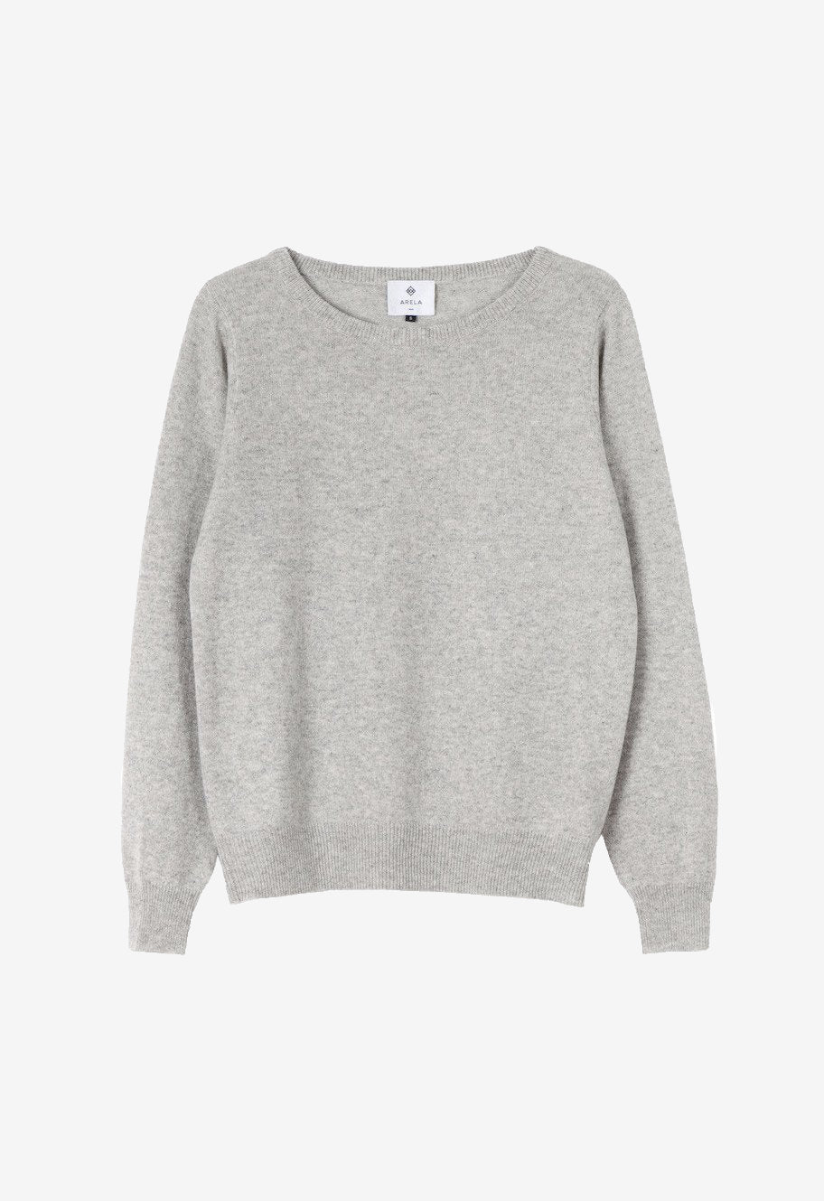 Laine cashmere sweater in light grey