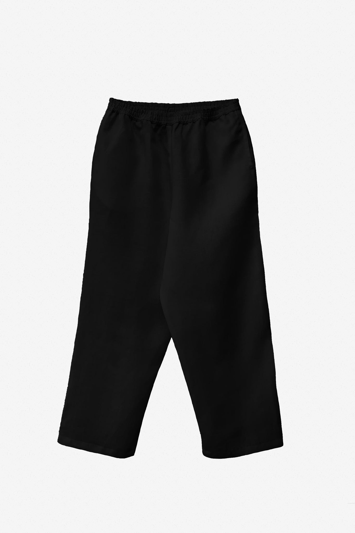Mai trousers in black linen