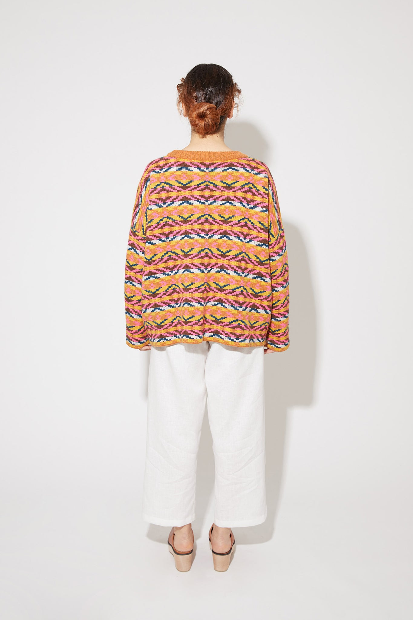 Marfa cashmere sweater in multi