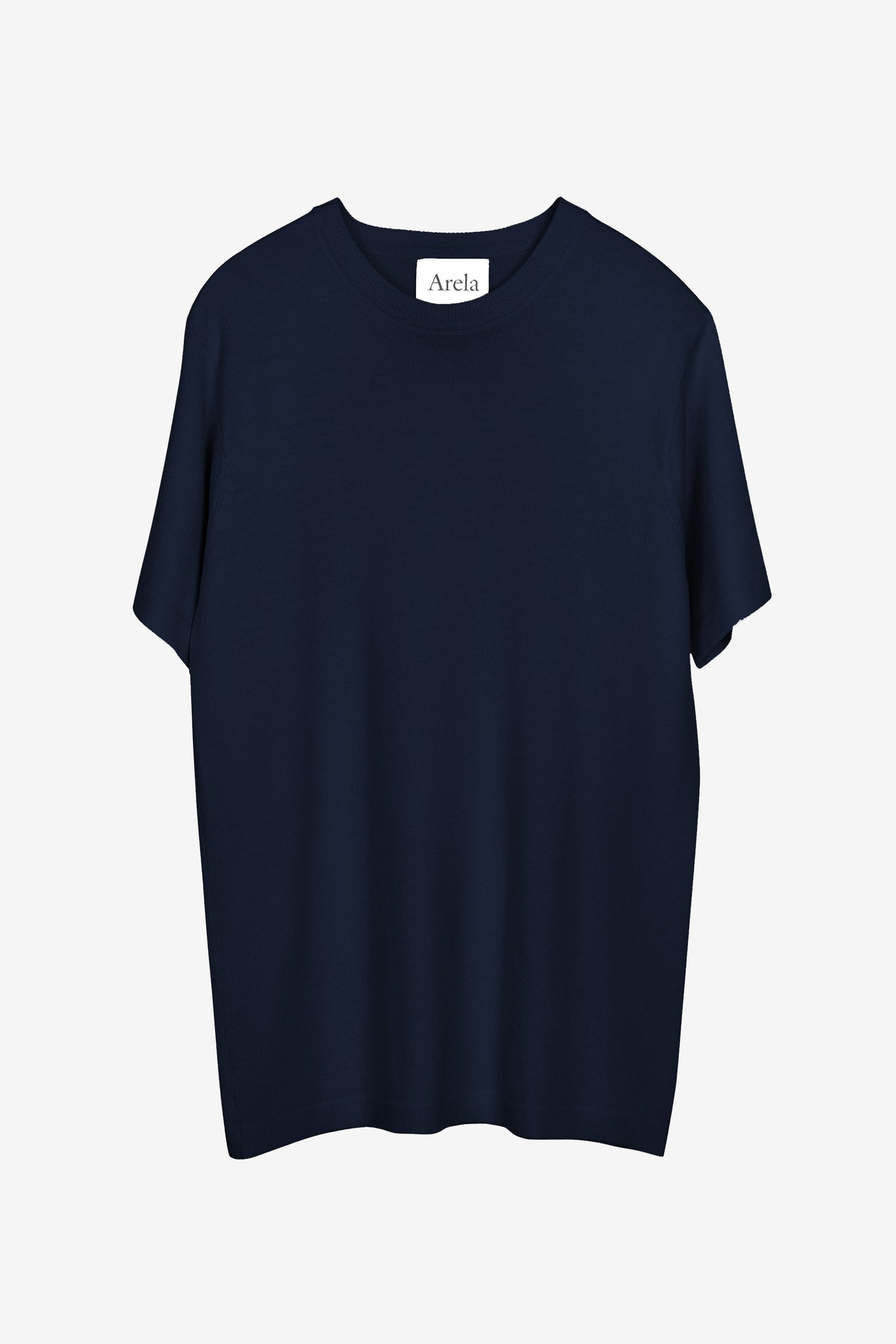 Mathis merino t-shirt in dark blue