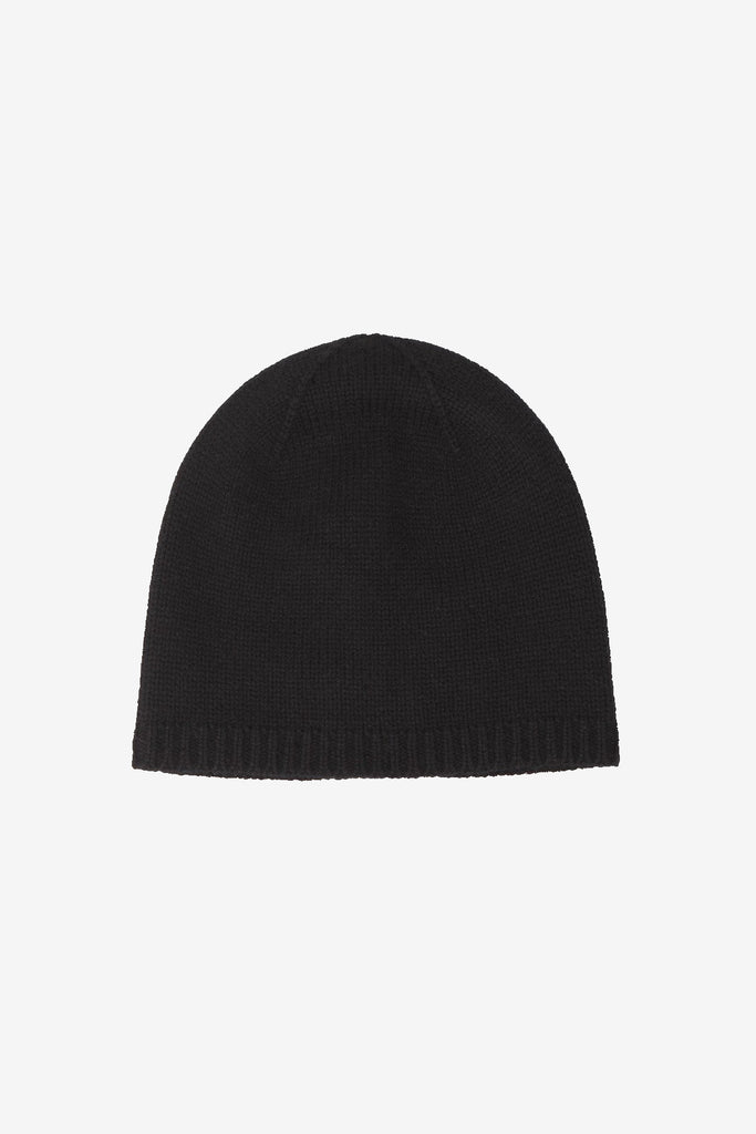 Nao cashmere beanie in black