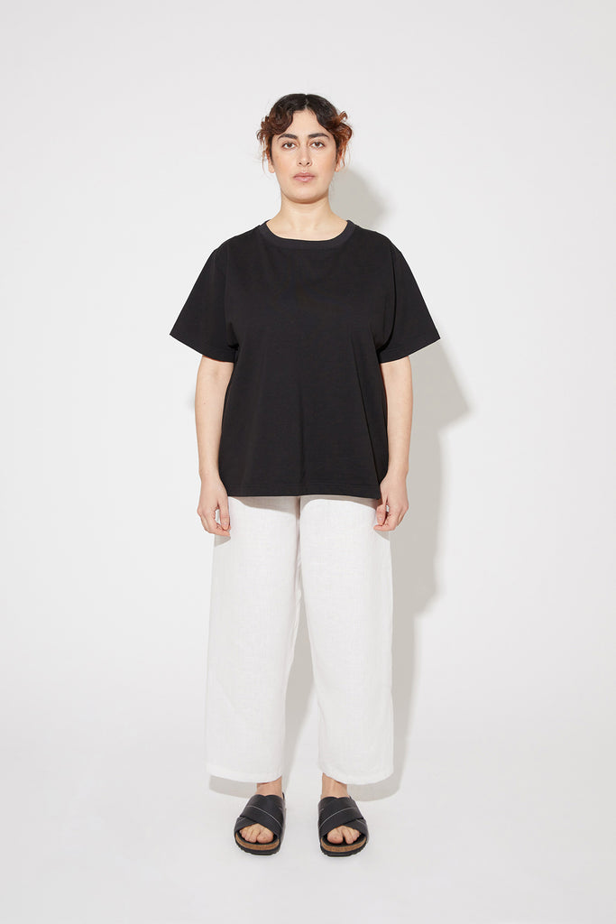 Seela t-shirt in black