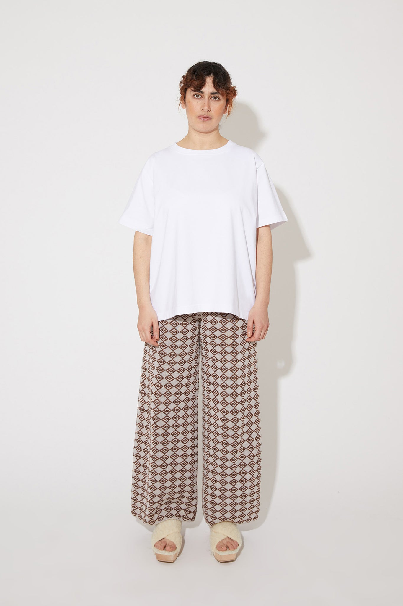 Seela t-shirt in white