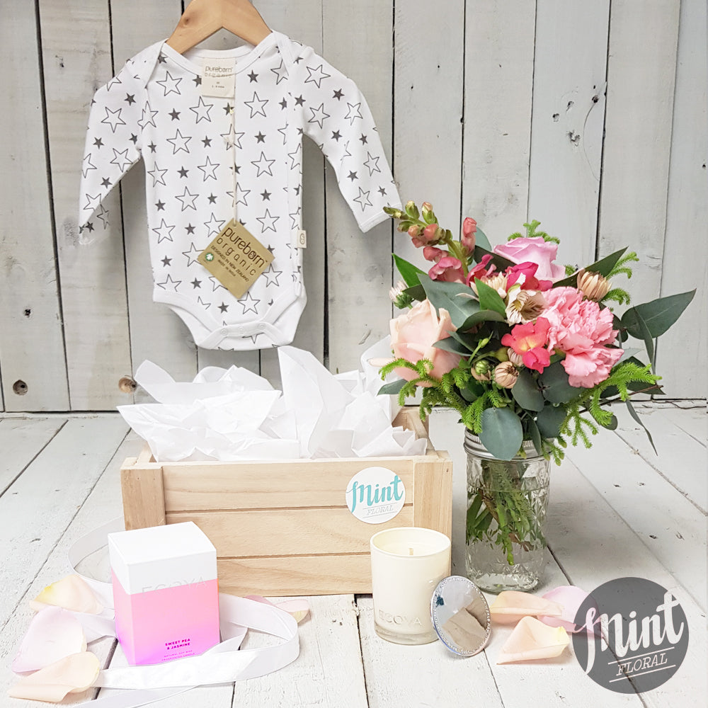 NEW BABY FLOWERS & GIFTS | Welcome new life!