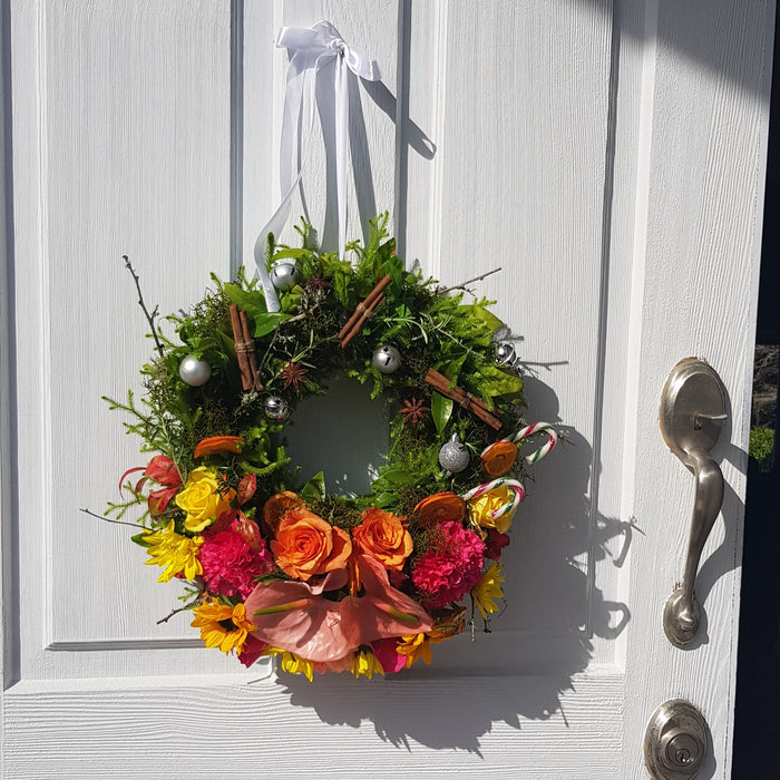 LUSH CHRISTMAS WREATH WORKSHOP - Wed 16th Dec 2020
