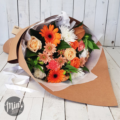 Apricot Crumble Bouquet
