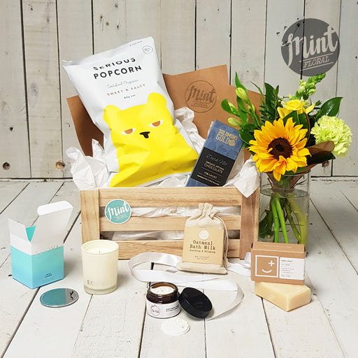 Beautiful Baby Boy Gift Crate