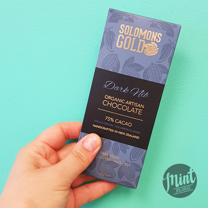 Solomons Gold Chocolate Bar