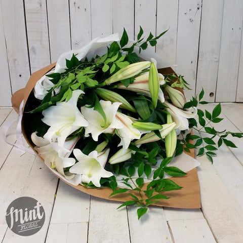 Fragranced Christmas Lily Bouquet