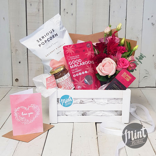 With All My Heart Gift Crate - With Greeting Card