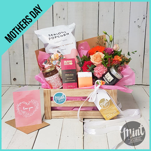 LOVE YOU TO THE MOON AND BACK GIFT CRATE (with greeting card) - *MOTHERS DAY ONLY*