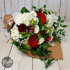 Strawberries and Cream Christmas Bouquet