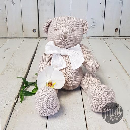 Large Crocheted Cotton Teddy Bear