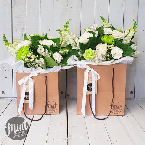 Vanilla Bouquet Bag