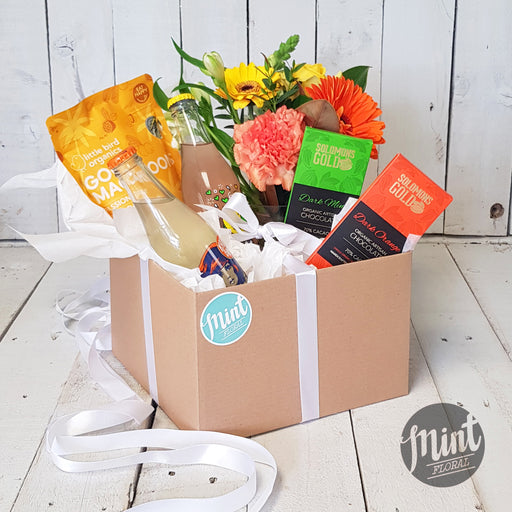 Vibrant Get Well Soon Gift Box