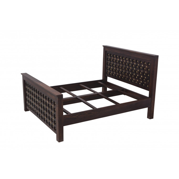 Buy Bakhara Double Bed Without Box Hc 021d Online India Haveli Culture
