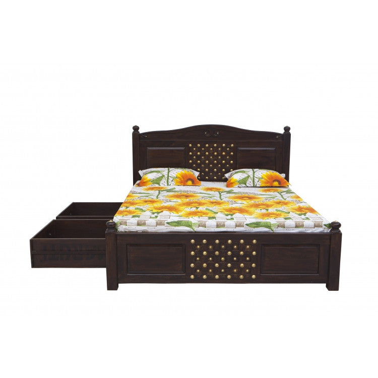 Buy Bakhara Gothic Double Bed Hc 022d Online India Haveli Culture