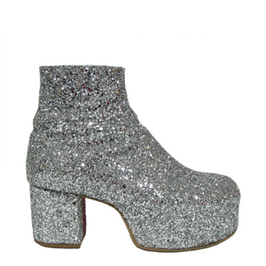 Twin 2 Tone Glam Boots