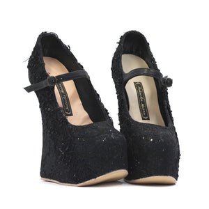 Iwona Shoes - Black Lace UK 7