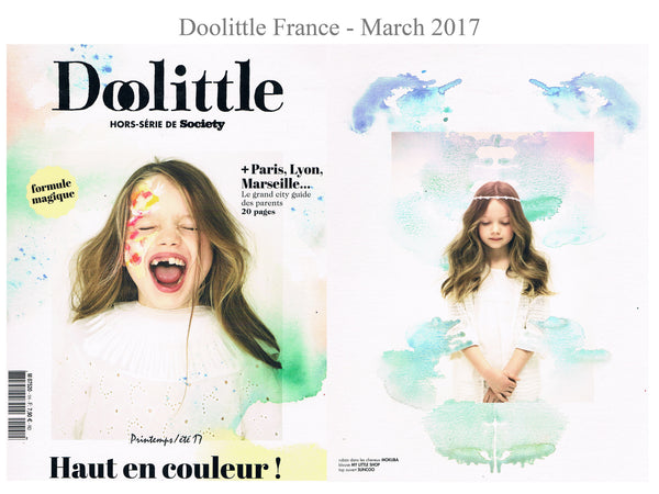 Doolittle Magazine - My little Shop in the Press - nightwear for kids - Life of kids in Pyjamas