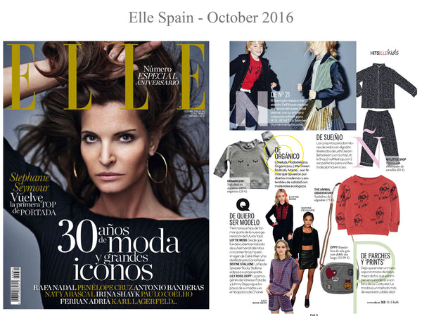Elle - My little Shop in the Press - nightwear - Life of kids in Pyjamas