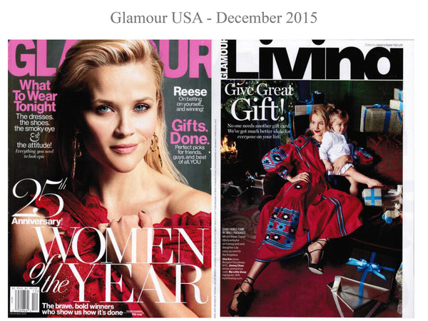 Glamour USA - My little Shop in the Press - nightwear - Life of kids in Pyjamas