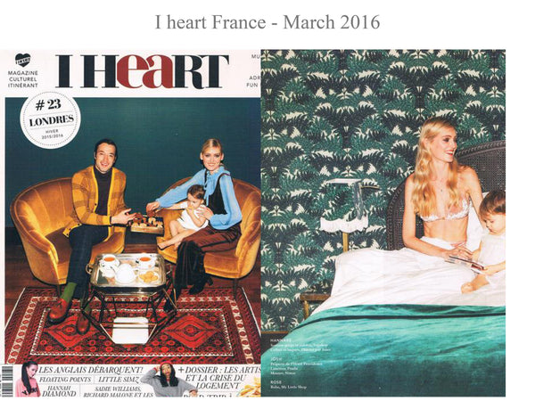 I Heart magazine - My little Shop in the Press - nightwear - Life of kids in Pyjamas