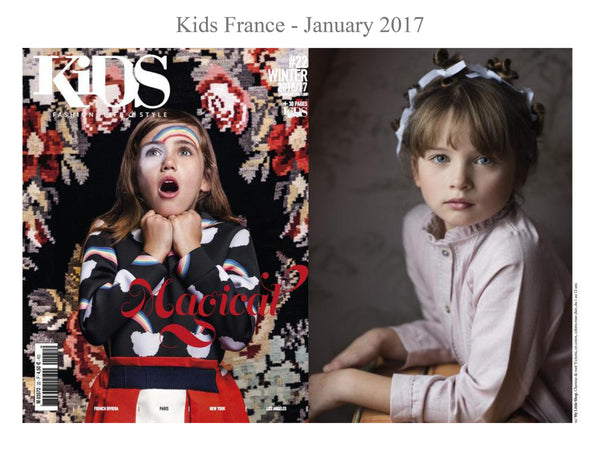 Kids Magazine - My little Shop in the Press - nightwear - Life of kids in Pyjamas