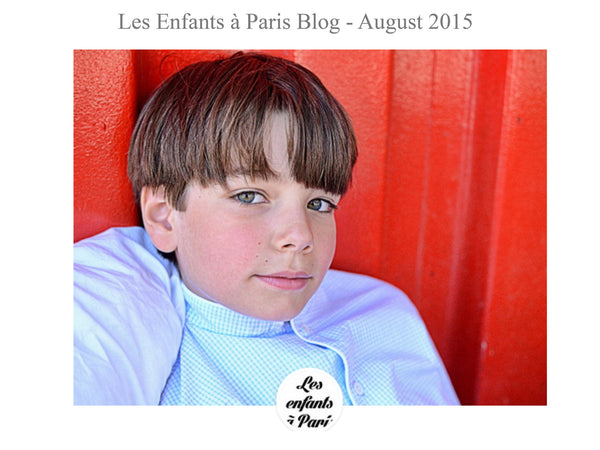 les enfants a paris - My little Shop in the Press - nightwear - Life of kids in Pyjamas
