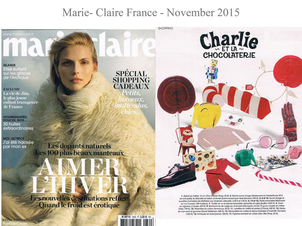 Marie Claire - My little Shop in the Press - nightwear - Life of kids in Pyjamas