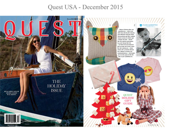 Quest USA - My little Shop in the Press - nightwear - Life of kids in Pyjamas