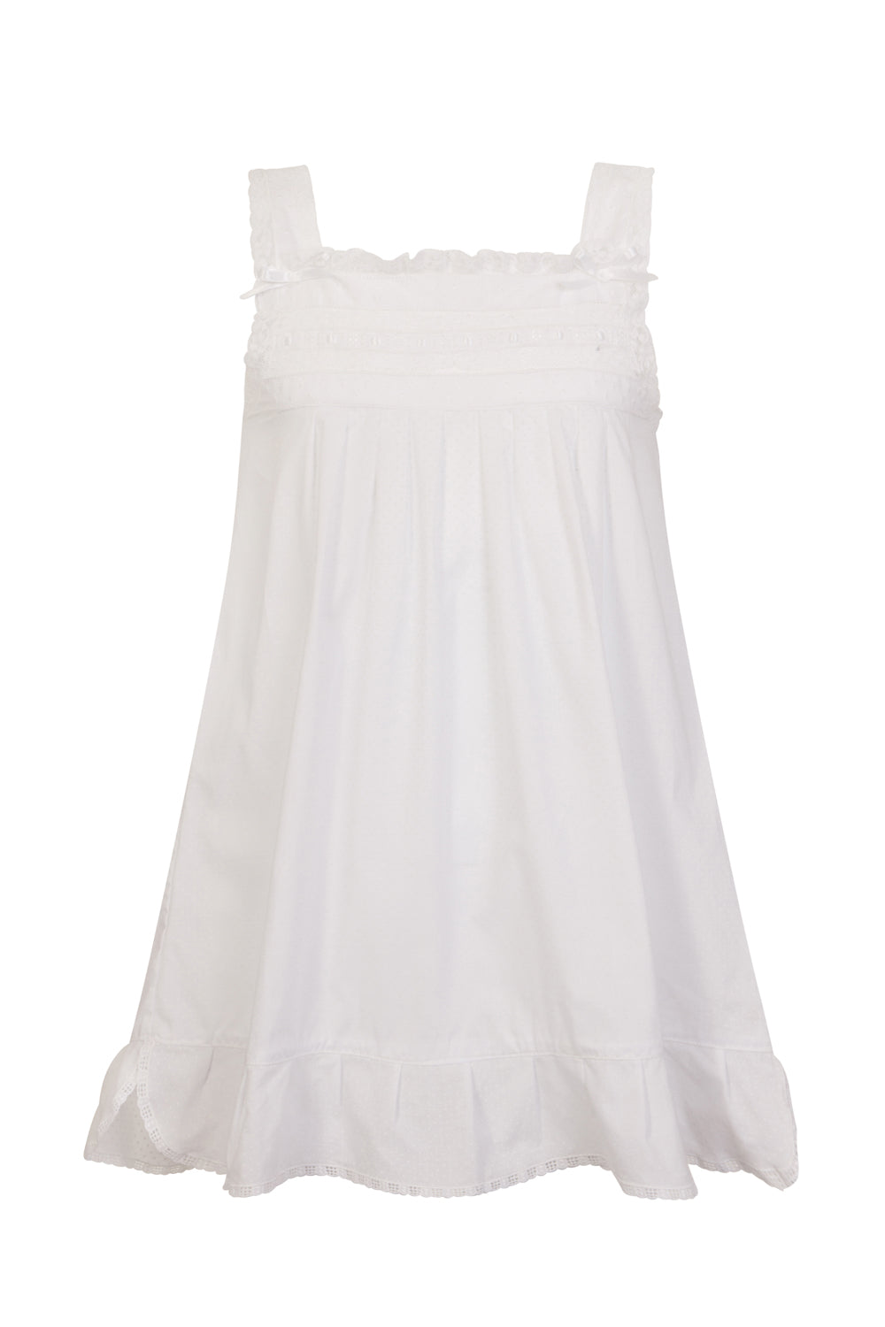 Carlota Organic Cotton Girls Night Dress