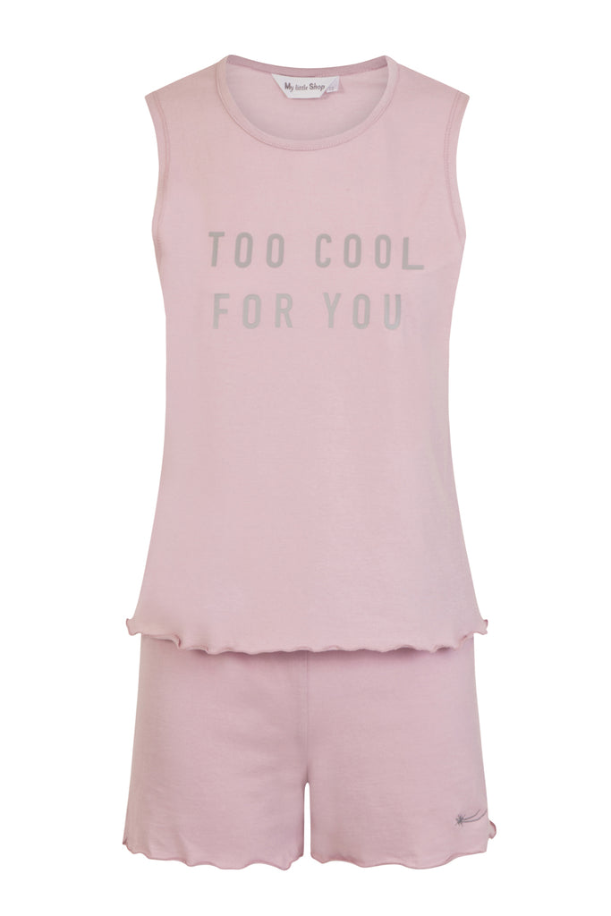 Too Cool Girls Outfit Organic