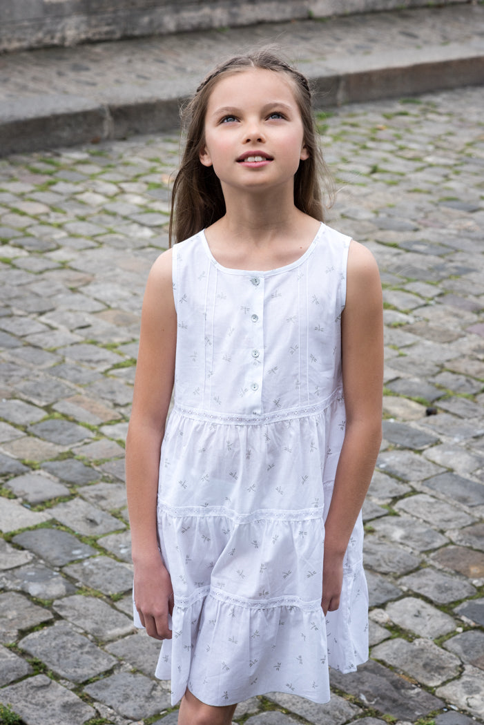 Dragonfly Organic Cotton Girls Night Dress