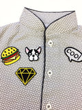 Black & Yellow Diamond Patch