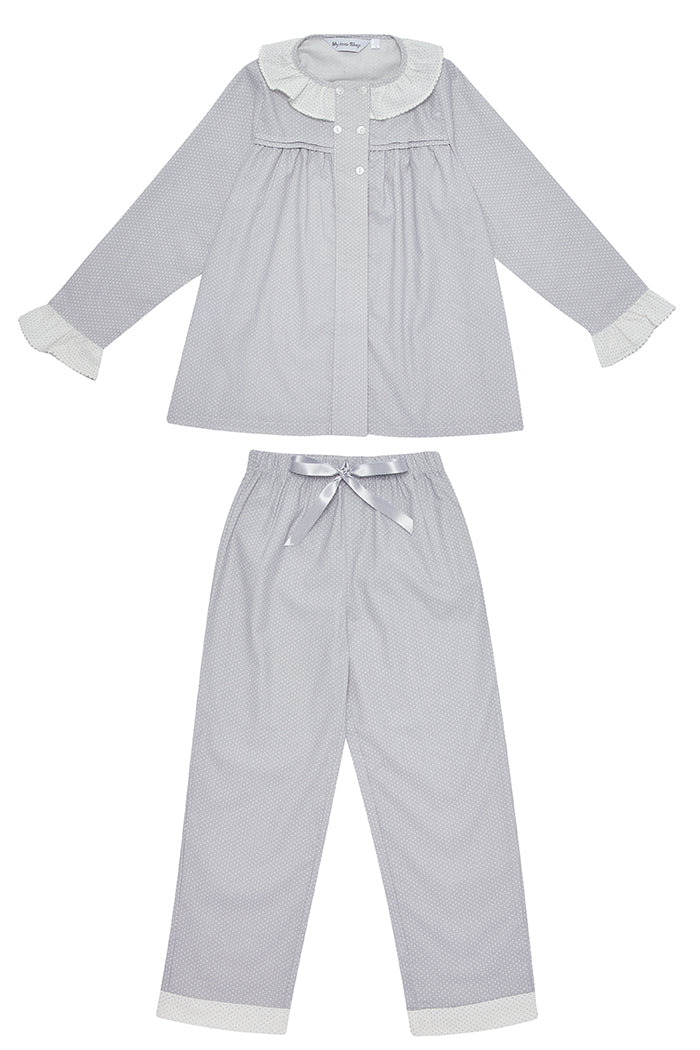 Dasha Girls Grey Children Pyjamas
