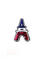 Sequin Eiffel Tower Patch
