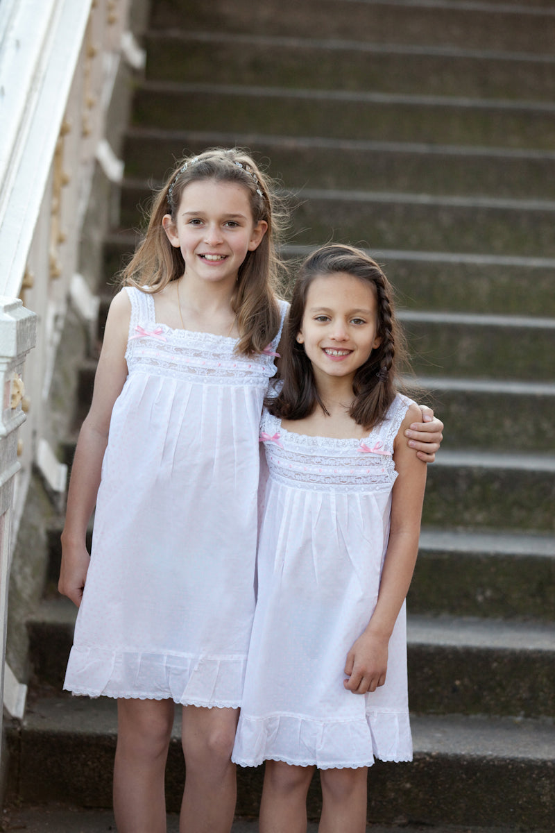 Petals Organic Cotton Girls Night Dress
