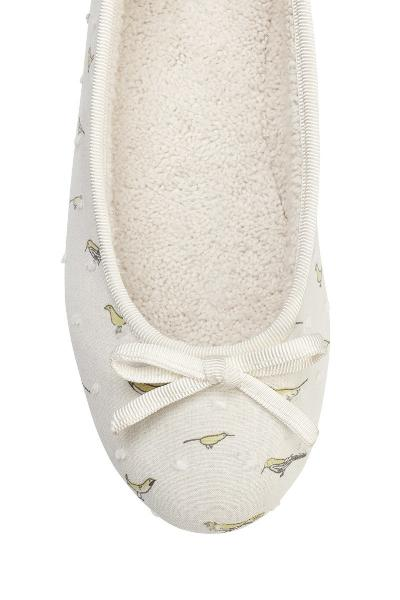 Birdy girls slippers with matching pyjamas - My little Shop nightwear for kids - accessories