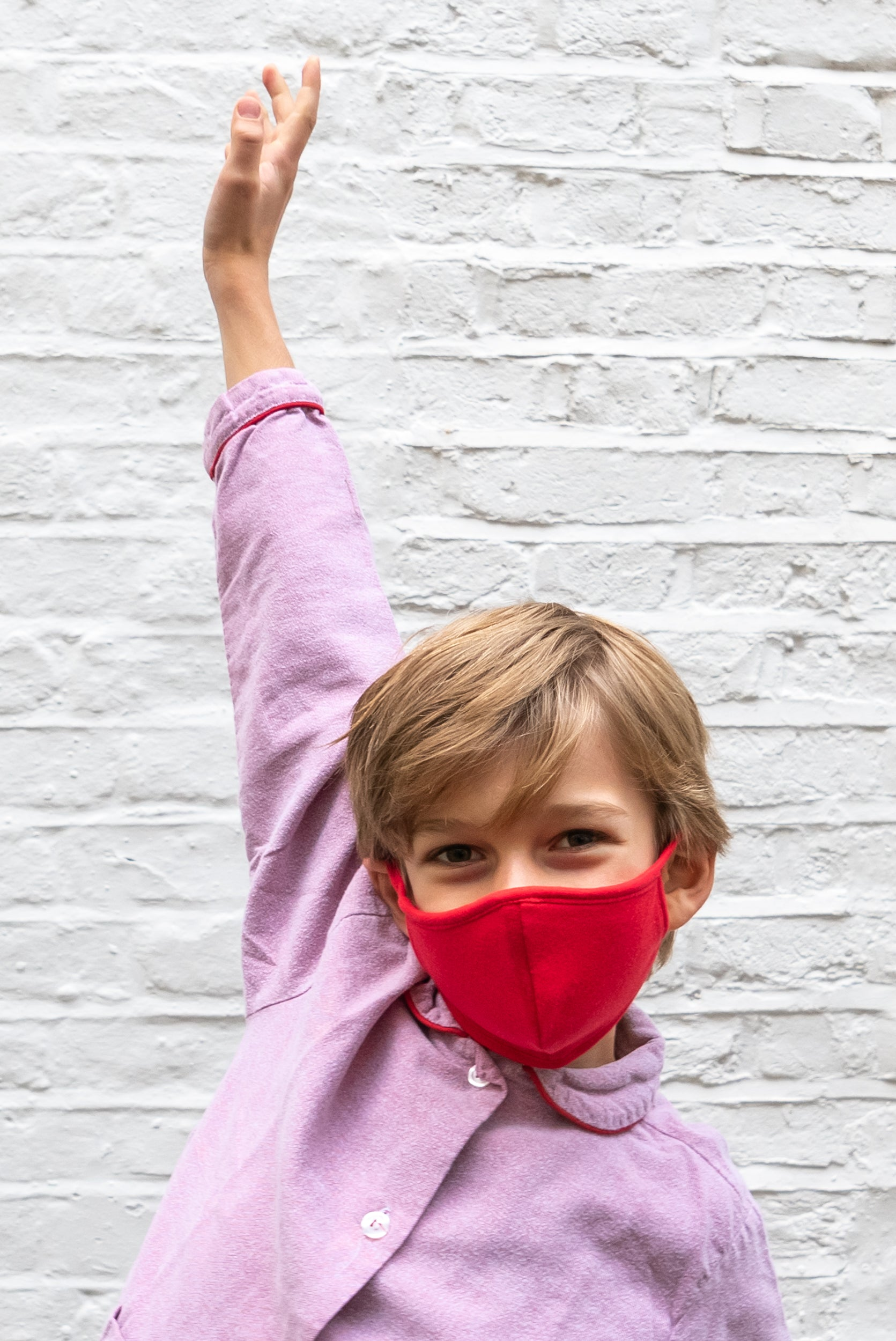 PRE-ORDER Eco-friendly Red Boys Mask