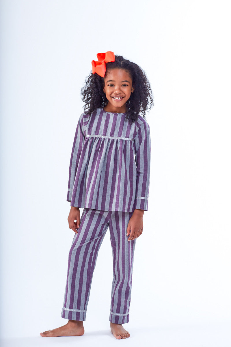 Lila Girls Pyjamas