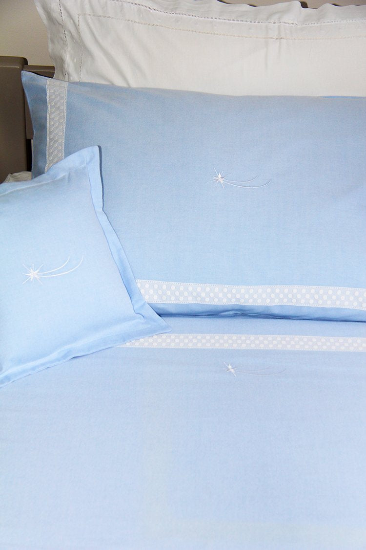 Shooting Star Blue Duvet Cover