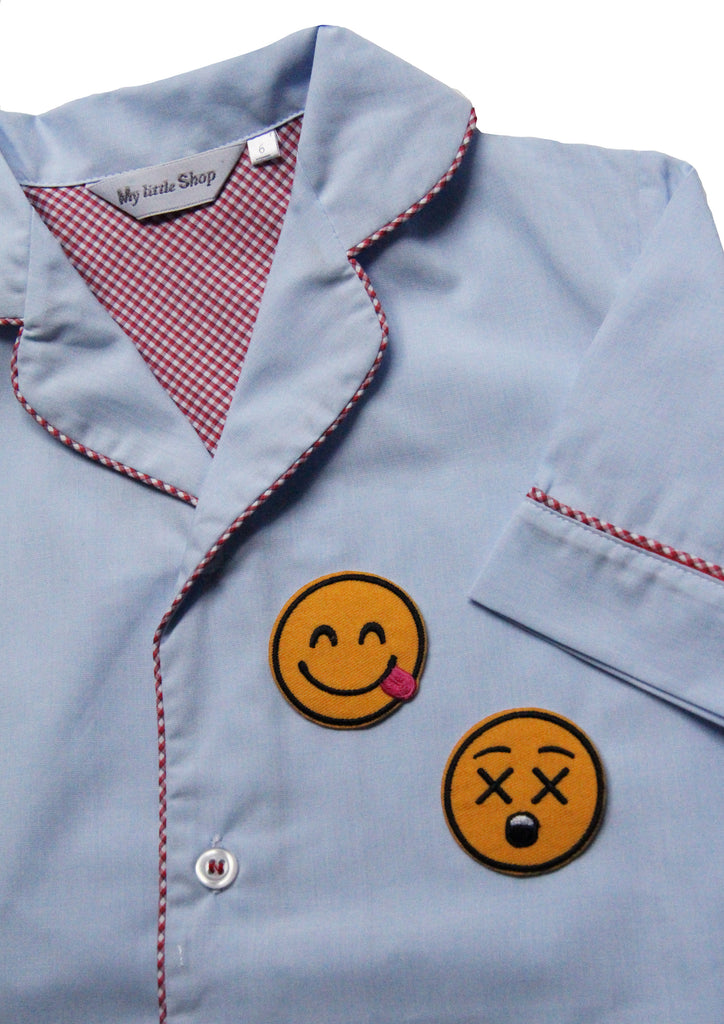 X Eyes Smiley Patch